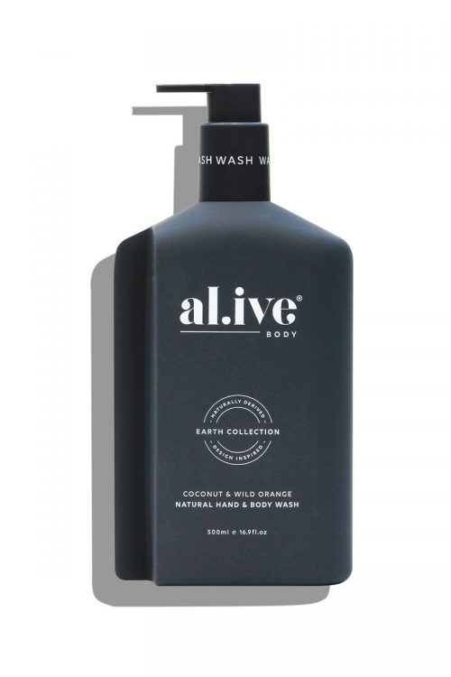 Al.ive Hand and Body Wash Coconut and Wild Orange