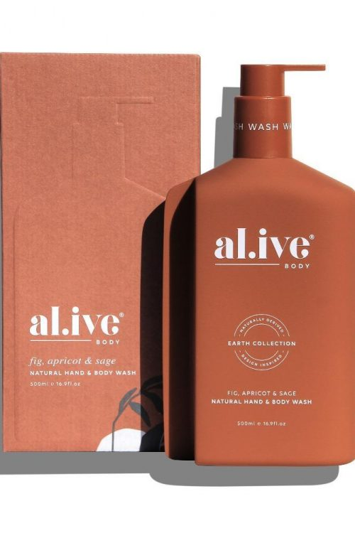Al.ive Hand and Body Wash Fig, Apricot & Sage