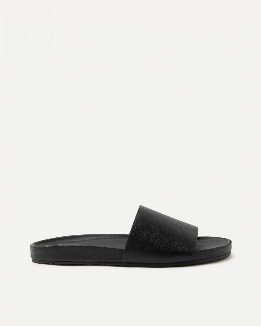 Single Strap Slide Black