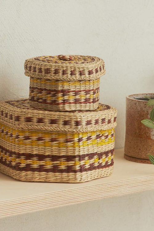 Trinka Seagrass Basket Set