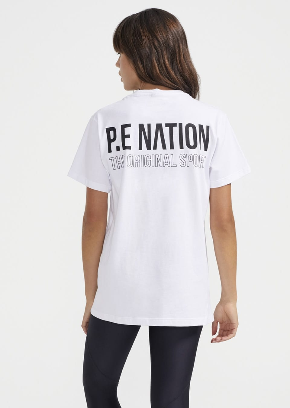 National Level Tee In White